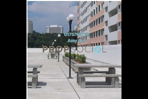 For Sale Apartment at Sri Aman Apartment, Relau Freehold Semi Furnished 3R/1B 255k