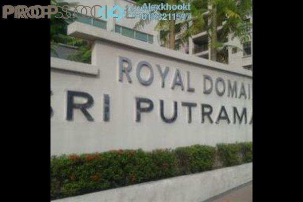 For Sale Condominium at Sri Putramas II, Dutamas Freehold Semi Furnished 3R/2B 650k