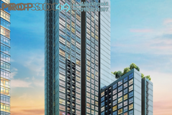 For Rent Serviced Residence at Icon Residenz, Petaling Jaya Freehold Semi Furnished 2R/2B 1.9k