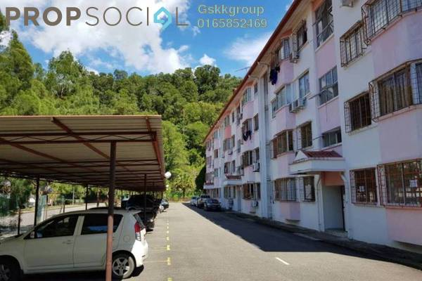 For Sale Apartment at Beverly Hills, Penampang Freehold Semi Furnished 2R/1B 250k