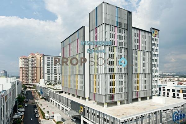 For Sale SoHo/Studio at Dataran Prima, Kelana Jaya Freehold Semi Furnished 0R/1B 310k