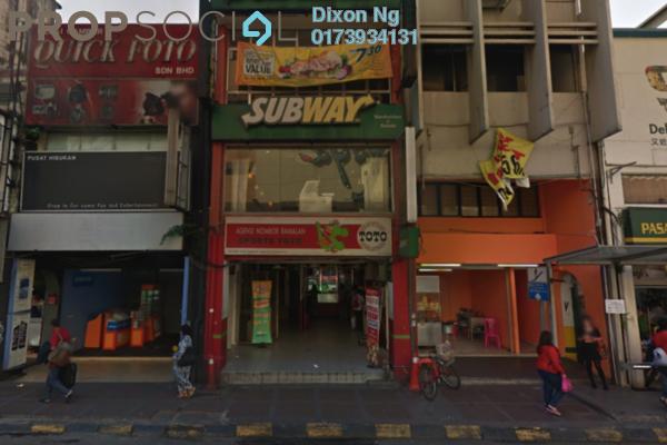 For Rent Shop at Petaling Street, Pudu Freehold Semi Furnished 1R/1B 21k