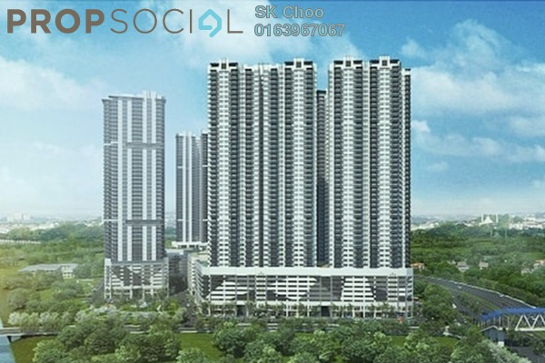 For Sale Serviced Residence at Razak City Residences, Sungai Besi Freehold Fully Furnished 2R/2B 429k
