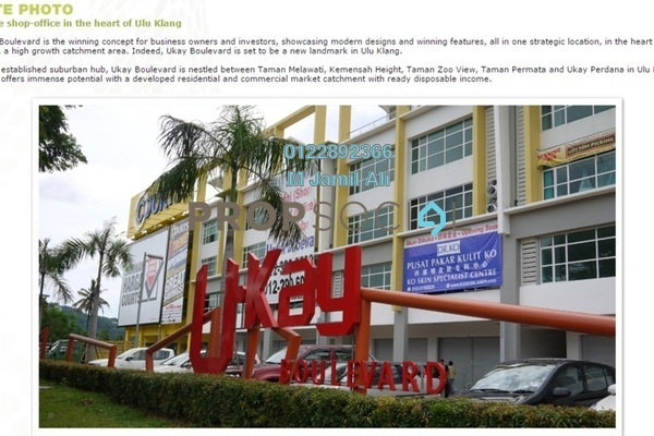 For Rent Shop at Ukay Boulevard, Ukay Freehold Unfurnished 0R/0B 11k