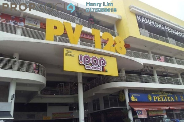 For Rent Shop at Platinum Mondrian PV128, Setapak Freehold Unfurnished 0R/0B 2.7k