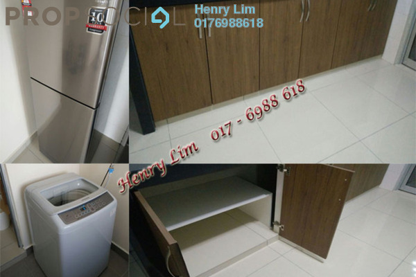 For Rent Condominium at Platinum Lake PV21, Setapak Freehold Semi Furnished 3R/2B 1.7k