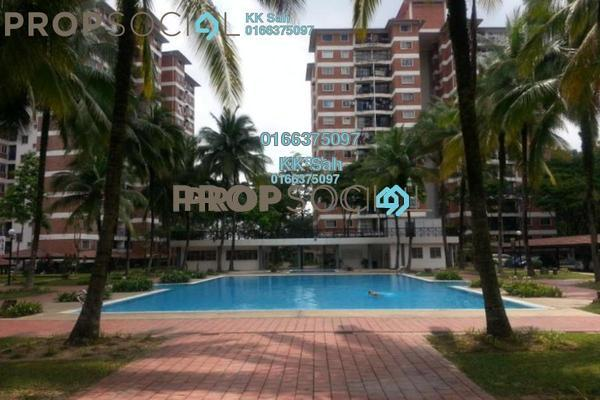 For Rent Condominium at Forest Green, Bandar Sungai Long Freehold Fully Furnished 3R/2B 1.2k
