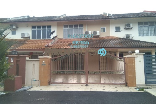For Sale Terrace at Section 8, Bandar Mahkota Cheras Freehold Semi Furnished 4R/3B 575k