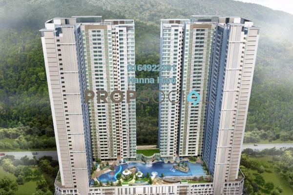For Sale Condominium at Imperial Grande, Sungai Ara Freehold Unfurnished 3R/1B 493k