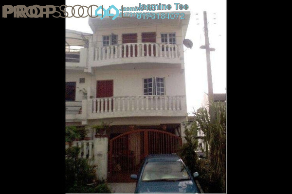 For Sale Terrace at Taman Dagang, Ampang Leasehold Semi Furnished 4R/2B 570k