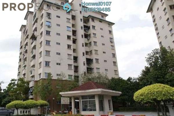 For Rent Condominium at Casa Villa, Kajang Freehold Fully Furnished 3R/2B 1.2k