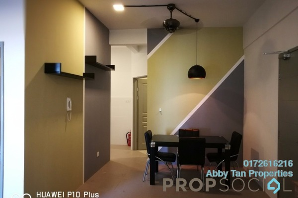 For Rent Apartment at Delta Heights, Penampang Freehold Semi Furnished 2R/1B 1.35k