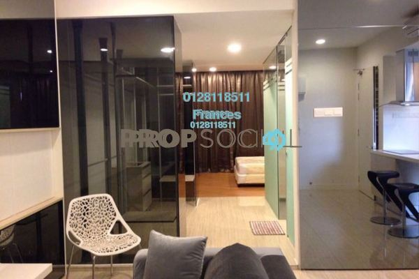 For Sale Serviced Residence at Eve Suite, Ara Damansara Leasehold Fully Furnished 1R/1B 565k