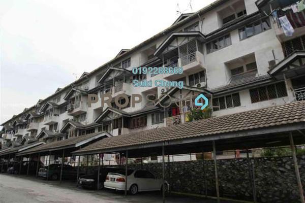 For Sale Apartment at Perdana Villa Deluxe, Pandan Perdana Freehold Unfurnished 3R/2B 298k