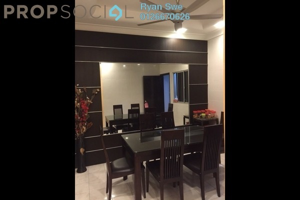For Sale Terrace at Taman Desa Jaya, Kepong Freehold Semi Furnished 3R/2B 388k