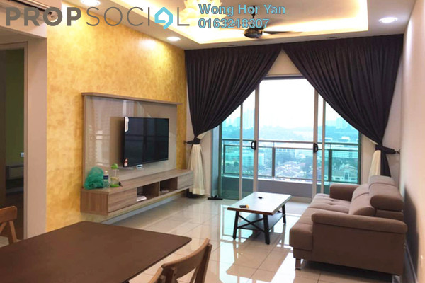 For Rent Serviced Residence at Sunway GEO Residences, Bandar Sunway Freehold Fully Furnished 2R/2B 3.2k