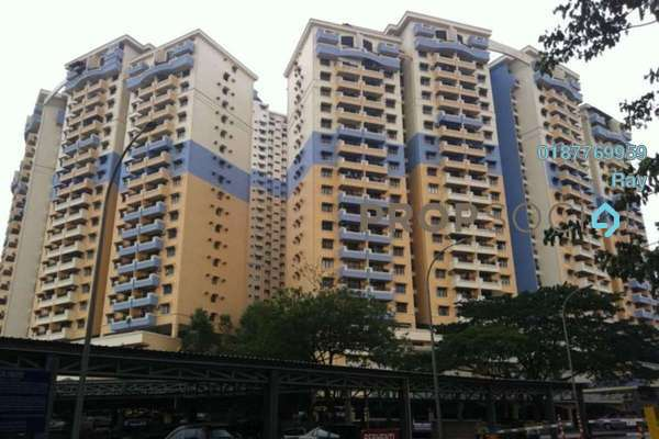For Rent Condominium at Vista Komanwel, Bukit Jalil Freehold Fully Furnished 3R/2B 1.5k