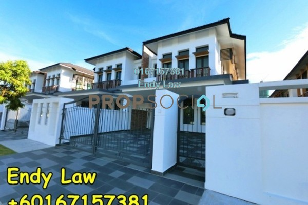 For Sale Semi-Detached at Eco Botanic, Skudai Freehold Unfurnished 5R/5B 1.2m