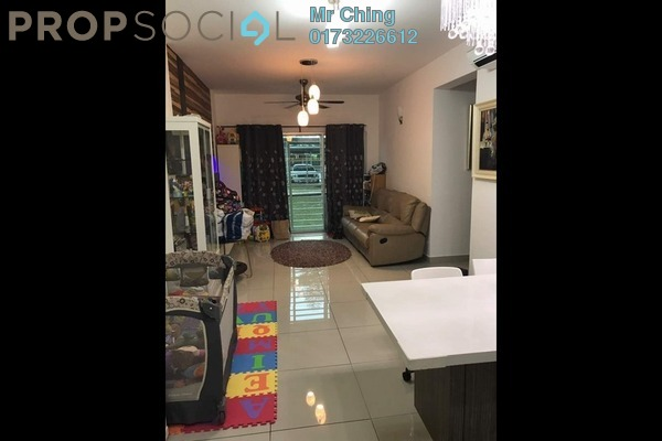 For Sale Condominium at Hijauan Puteri, Bandar Puteri Puchong Freehold Semi Furnished 3R/2B 520k