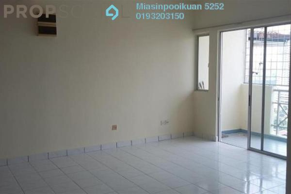 For Rent Condominium at Sri Suajaya, Sentul Freehold Semi Furnished 4R/2B 1.5k