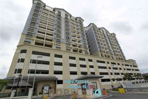 For Rent Apartment at Persanda 3 Apartment, Shah Alam Freehold Unfurnished 3R/2B 1.2k