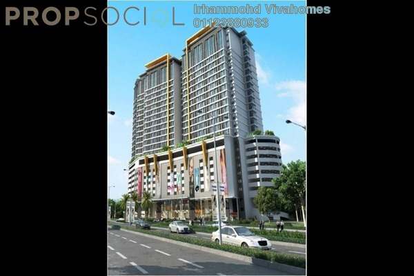 For Rent Condominium at Avenue Crest, Shah Alam Freehold Fully Furnished 1R/1B 1.3k
