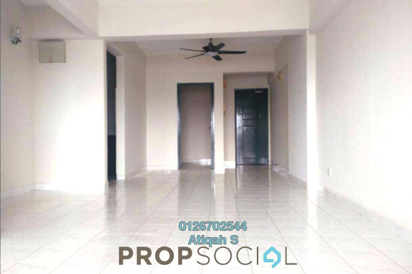 For Rent Condominium at Brunsfield Riverview, Shah Alam Freehold Semi Furnished 3R/2B 1.7k