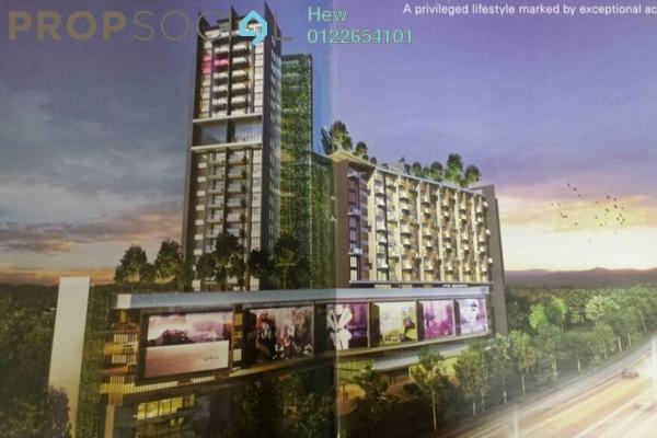 For Rent Condominium at Univ 360 Place, Seri Kembangan Freehold Fully Furnished 0R/1B 1.5k