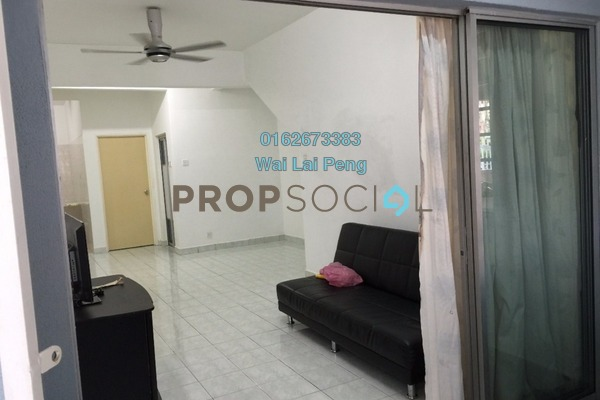 For Rent Townhouse at Taman Lagenda Mas, Cheras South Freehold Semi Furnished 3R/2B 1.2k