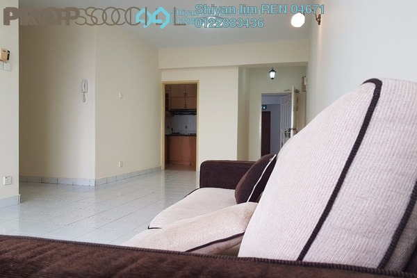 For Rent Condominium at Villa Angsana, Jalan Ipoh Freehold Semi Furnished 3R/2B 1.5k