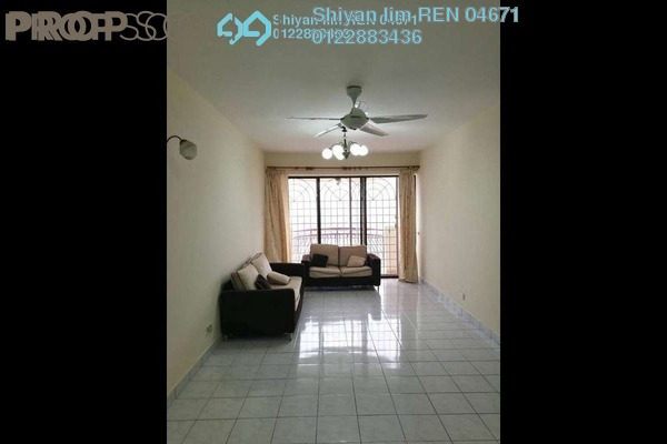 For Rent Condominium at Villa Angsana, Jalan Ipoh Freehold Semi Furnished 3R/2B 1.65k