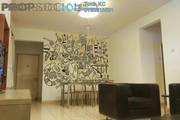 For Rent Condominium at Belimbing Heights, Seri Kembangan Freehold Fully Furnished 3R/2B 1.1k