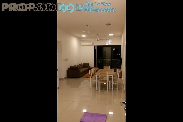 For Rent Condominium at Glomac Centro, Bandar Utama Leasehold Fully Furnished 3R/2B 2.5k
