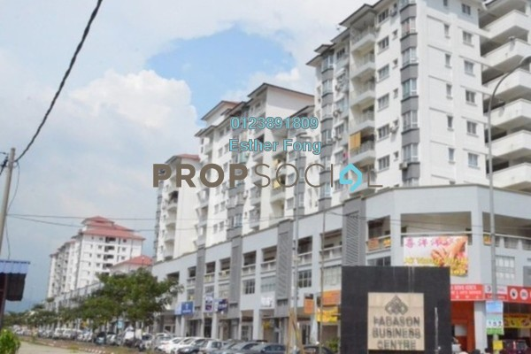 For Rent Condominium at Fadason Park, Jinjang Freehold Semi Furnished 3R/2B 1.1k