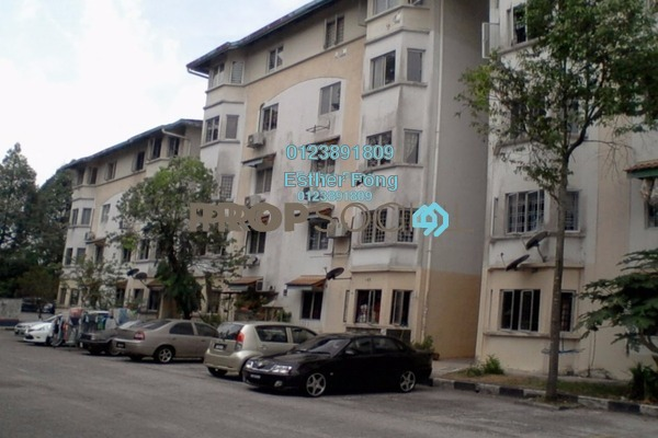 For Rent Apartment at Permai Apartment, Damansara Damai Leasehold Semi Furnished 3R/2B 800translationmissing:en.pricing.unit