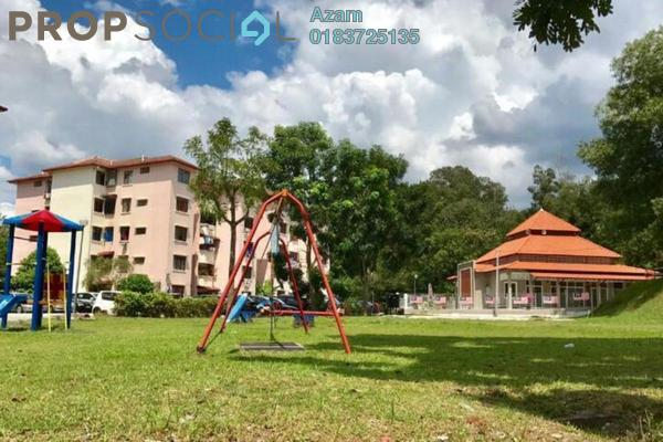 For Sale Apartment at Sri Raya Apartment, Ukay Freehold Fully Furnished 3R/2B 220k