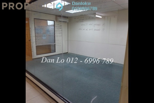 For Sale Office at Megan Avenue 1, KLCC Freehold Semi Furnished 1R/1B 1.46m