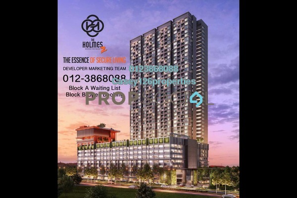 For Sale Condominium at The Holmes 2, Bandar Tun Razak Freehold Unfurnished 3R/2B 380.0千