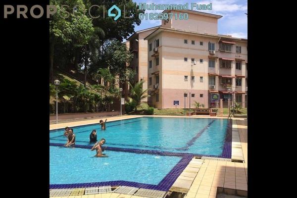 For Sale Apartment at Saujana Apartment, Damansara Damai Freehold Unfurnished 3R/2B 230k