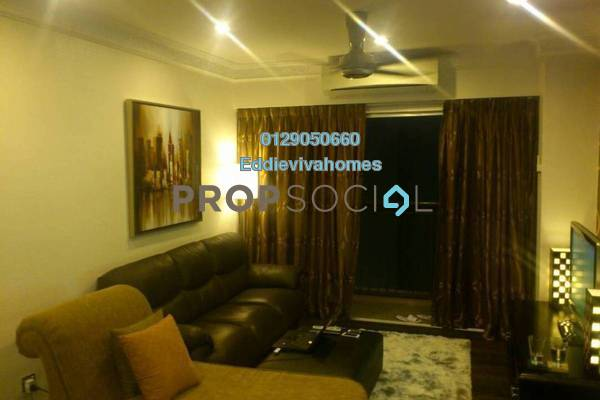 For Sale Condominium at Plaza Medan Putra, Bandar Menjalara Freehold Fully Furnished 2R/2B 418k