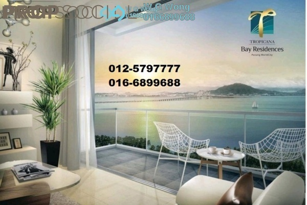 For Rent Condominium at Tropicana Bay Residences, Bayan Indah Freehold Fully Furnished 3R/2B 2.45k