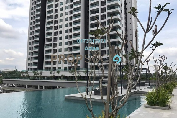 For Sale Condominium at Paragon 3, Bandar Putra Permai Freehold Unfurnished 4R/2B 570k