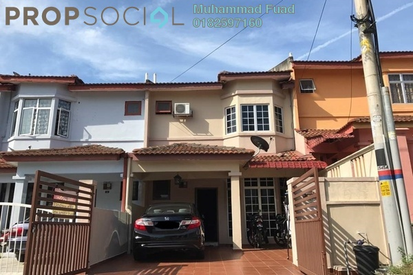 For Sale Terrace at Saujana Puchong, Puchong Freehold Semi Furnished 4R/3B 460k