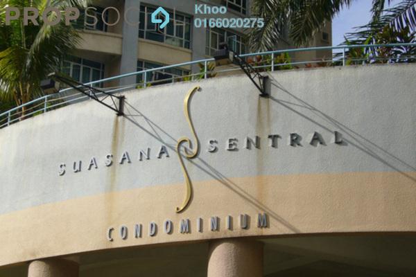 For Sale Condominium at Suasana Sentral Condominium, KL Sentral Freehold Semi Furnished 3R/2B 1.08m