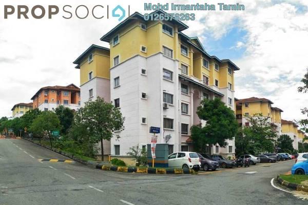 For Sale Apartment at Bandar Puncak Alam, Kuala Selangor Freehold Semi Furnished 3R/2B 155k