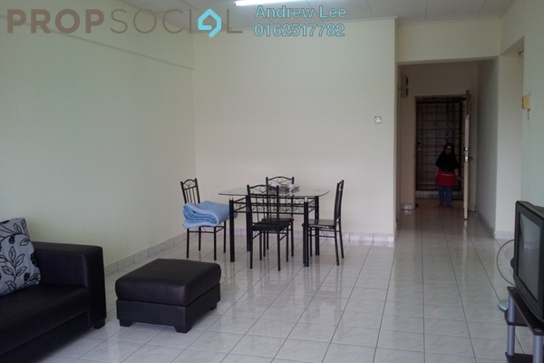 For Rent Condominium at Bayu Tasik 2, Bandar Sri Permaisuri Leasehold Semi Furnished 3R/2B 1.6k