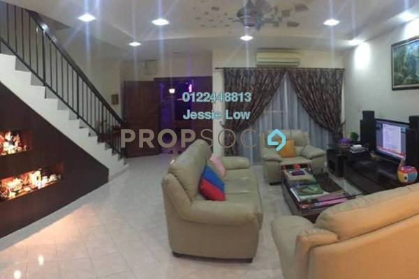 For Sale Terrace at Taman Bukit Segar, Cheras Leasehold Semi Furnished 4R/3B 688k