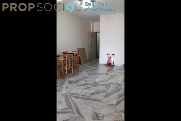 For Sale Apartment at Greenview Apartment, Kepong Freehold Semi Furnished 3R/2B 225k