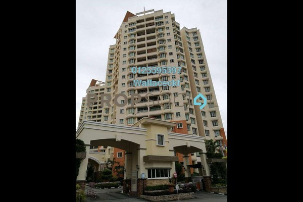 For Sale Condominium at Regency Heights, Sungai Ara Freehold Fully Furnished 3R/2B 610k
