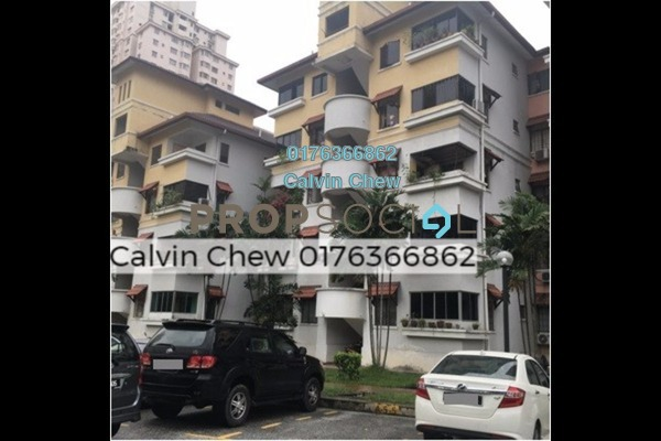 For Sale Condominium at Anjung Villa, Sentul Freehold Unfurnished 3R/2B 300k